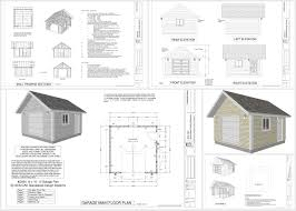 garage design truth pole garage plans page pole garage g 16 16 8 e2 80 b2 garage plan in pdf and dwg pole garage plans