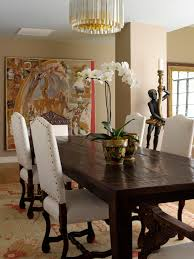 craftsman style dining table dining room traditional with crystal