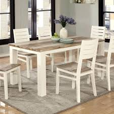 two tone dining table u2013 kiurtjohnson co