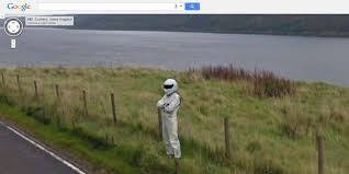 Walking Dead Google Map Top Gear U0027s The Stig Spotted On Google Maps Street View