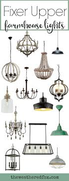 add fixer style with these inexpensive farmhouse light