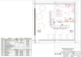 plan implantation cuisine plan 2d et 3d cuisine pro 64 côte basque idées agencemnt
