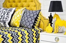 Yellow And Grey Curtain Panels Yellow And Grey Zig Zag 84 Inch Curtain Panel