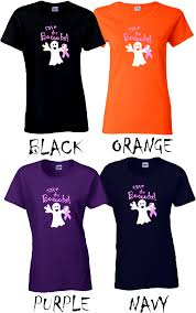 save the breast cancer ribbon ghost shirt funny halloween