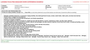 facilities manager resume facility manager cover letter