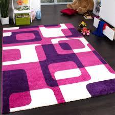 teppich f r kinderzimmer trendiger retro teppich in pink kinder teppiche