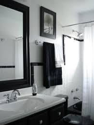 White Tiled Bathroom Ideas Decorate Home 1950 1950s Original Black U0026 White Tile Black And