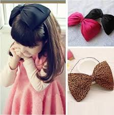 toddler hair bows baby headbands hair bows 2016 new fashion korean big bow for