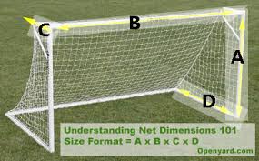 Best Backyard Soccer Goal by Buy High Quality Soccer Nets For All Size Soccer Goals Openyard Com
