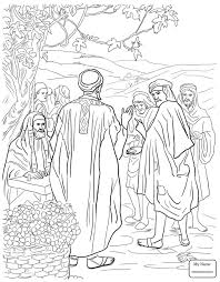 christianity bible jesus parables parable of the sheep and the