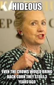 Hillary Clinton Meme Generator - hillary clinton scary woman memes quickmeme
