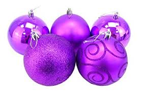 Large Baubles Christmas Decorations by Christmas Concepts Pack Of 5 Extra Large 100mm Christmas Tree