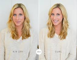 best air dry hair cuts 3 ways to use a curling iron