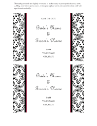 wedding design wedding save the date card black and white wedding design