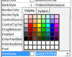 excel vba userform font color change stack overflow