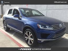 volkswagen touareg interior 2015 new volkswagen touareg at volkswagen south coast serving los