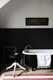 Black Striped Rug Of Every Stripe 10 Favorite Striped Rugs In The Bath Classic