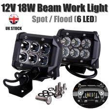 ecco led offroad lights ecco ew2421 2400 series 4 3 48w square flood beam led light ebay