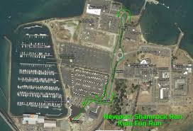Map Run Route by Course Maps Newport Shamrock Run