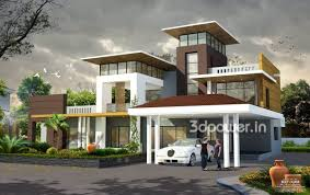 3d exterior home design home mansion