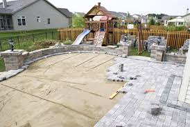 making a patio with pavers making stepping stones patio