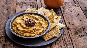 spicy chipotle pumpkin hummus recipe tablespoon com