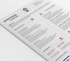 modern resume template psd word
