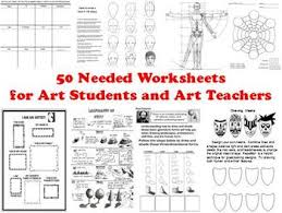 50 needed worksheets for art students and art teachers art