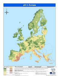 Data Map Soil Ph In Europe Esdac European Commission