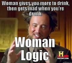 Mad Woman Meme - ancient aliens memes quickmeme