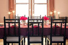 our dining room set for christmas making it lovely