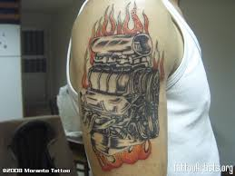 turbo and piston tattoo ford engine tattoos pictures to pin on pinterest tattooskid