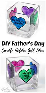 Personalized Keepsakes Diy Father U0027s Day Personalized Candle Holder Gift Idea Votive