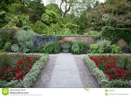 Walled Garden For Sale by Summer Walled Garden Royalty Free Stock Photography Image 33060667