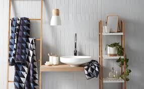Diy Leaning Ladder Bathroom Shelf by Bathroom Wall Vanity Towel Ladder Diy Bathroom Space Savers Wall