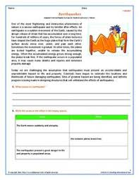 earthquakes epicenters worksheets reviewed by teachers