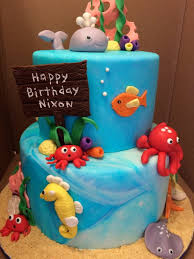 under the sea cake cakecentral com