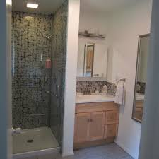 tiles for small bathrooms ideas bathroom casual modern beige small bathroom with shower stall