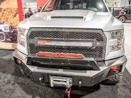 f150 bumper light bar go rhino 24295t br5 winch front bumper replacement ford f 150 2015