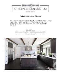 kitchen design contest press u0026 awards