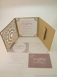 Wedding Registry Cards For Invitations Classic Wedding Invitations Moroccan Trifold Invitation