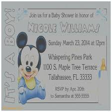 baby mickey baby shower baby shower invitation best of baby mickey mouse baby shower