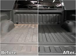 white truck bed liner renuit truck bed liner bumper and plastic restoration
