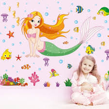 mermaid stickers decals promotion shop for promotional mermaid