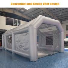 spray paint booth 26ft giant car workstation inflatable paint tent spray paint booth