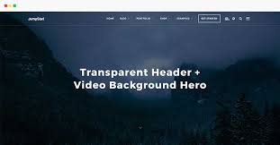 wp themes video background features jump start wordpress theme