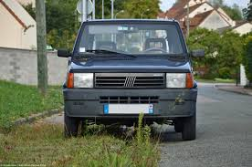 a sunday drive in a 1996 fiat panda ran when parked