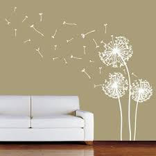 wall decor stickers cheap top 25 best flower wall stickers ideas