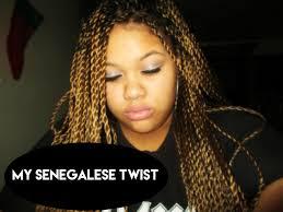 Light Brown Box Braids My Blonde Senegalese Twist Iamshanicejanelle Youtube