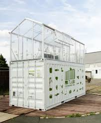 shipping containers converted to urban farms